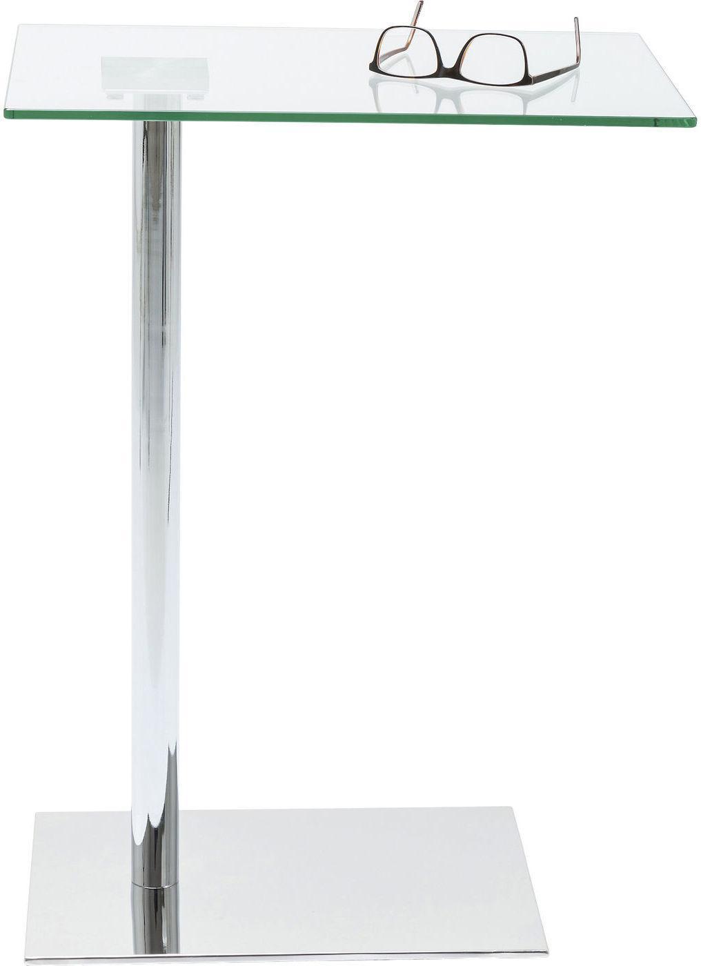 Design Bijzettafel Chroomglas.Bijzettafel West Coast Chroom 67x34x50 Kare Design Lil Nl